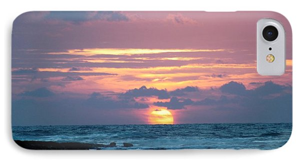 IPhone Case featuring the photograph Hawaiian Ocean Sunrise by Lehua Pekelo-Stearns