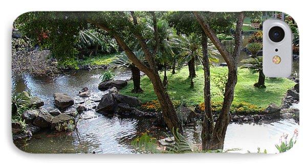 Hawaiian Pond  Phone Case by Dee  Savage