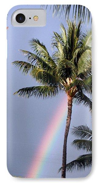 Hawaiian Rainbow IPhone Case by Karen Nicholson