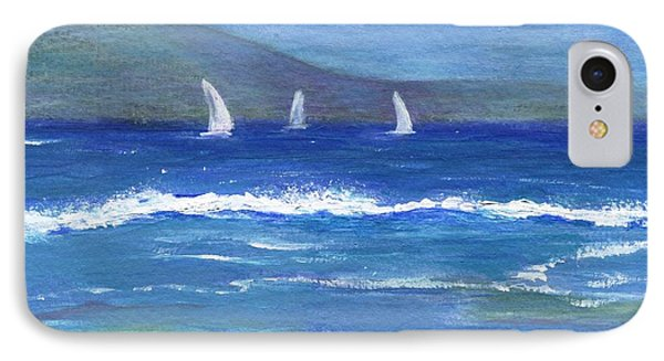 IPhone Case featuring the painting Hawaiian Sail by Jamie Frier