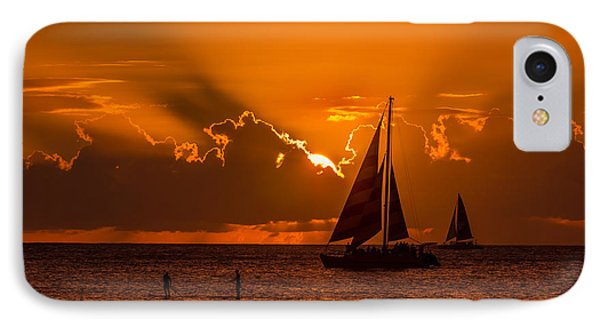Hawaiian Sunset IPhone Case by RC Pics