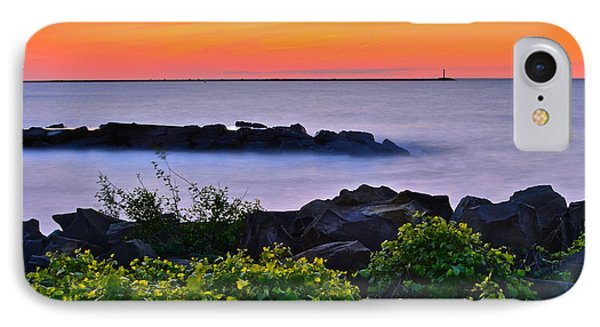 Hawaiian Sunset IPhone Case by Frozen in Time Fine Art Photography