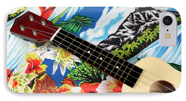 Hawaiian Ukulele IPhone Case