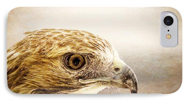 Hawk IPhone Case by Edward Fielding