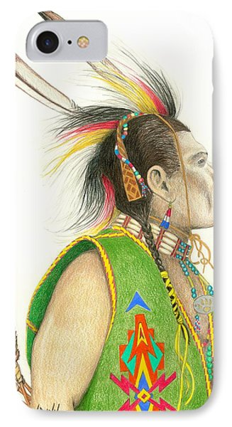 Hawk Foot Phone Case by Lew Davis
