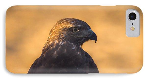 Hawk Profile Phone Case by Marc Crumpler