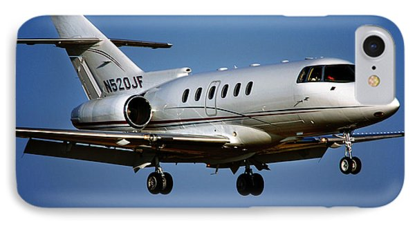 Hawker 800xp IPhone Case by James David Phenicie