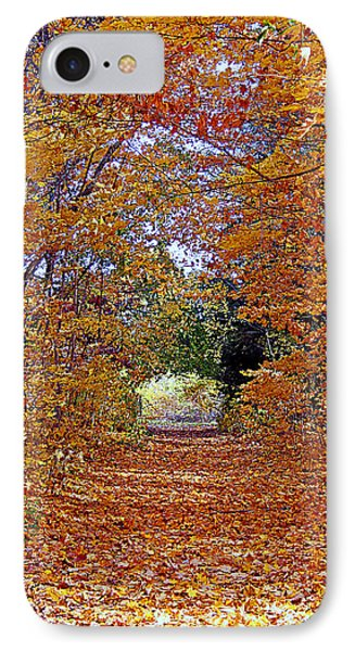 Hawthorn Hollow IPhone Case by Kay Novy