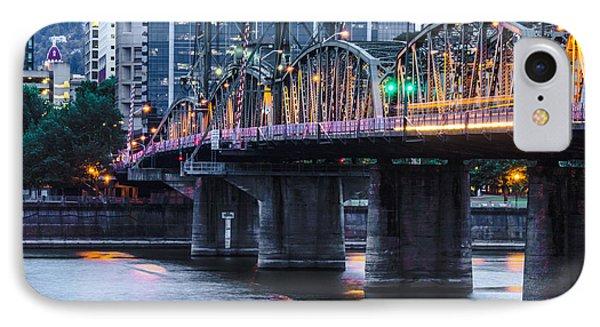 Hawthorne Bridge Portland Oregon IPhone Case by Patricia Babbitt