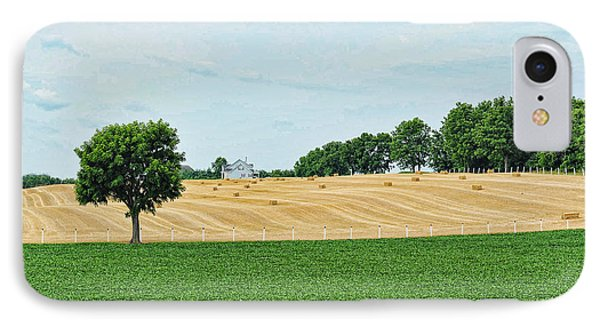 Hay And Hills IPhone Case