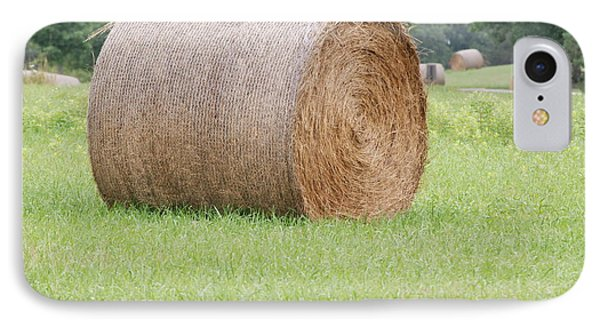 IPhone Case featuring the photograph Hay Bale by Mark McReynolds