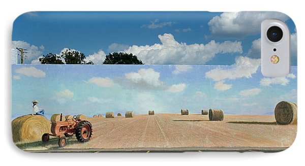 Haybales - The Other Side Of The Tunnel Phone Case by Blue Sky