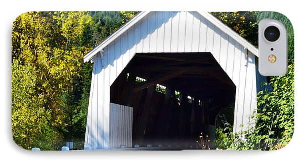 Hayden Covered Bridge IPhone Case by Ansel Price