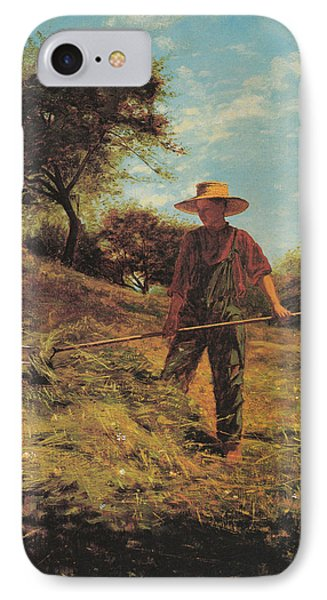 Haymaking Phone Case by Winslow Homer