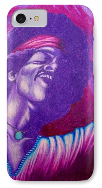 IPhone Case featuring the drawing Haze by Michael  TMAD Finney