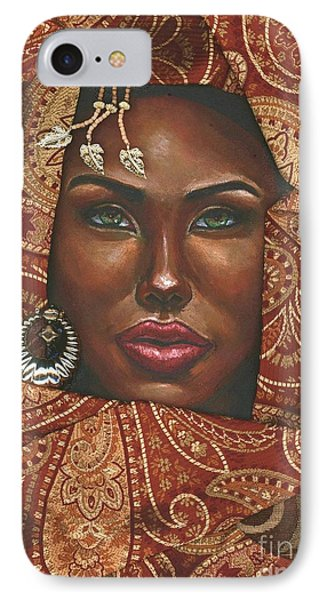 Hazel Eyes IPhone Case by Alga Washington