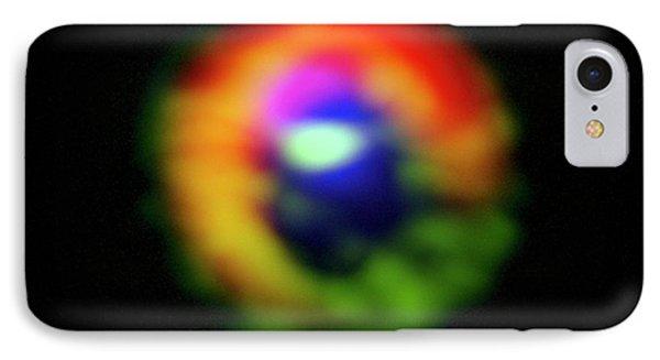 Hd 142527 Star IPhone Case by Alma (eso/naoj/nrao), S. Casassus Et Al