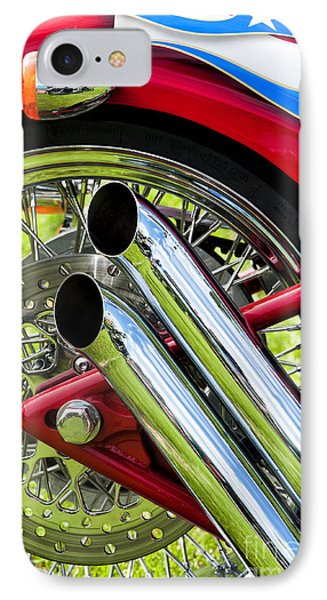Hd Custom Drag Pipes Phone Case by Tim Gainey