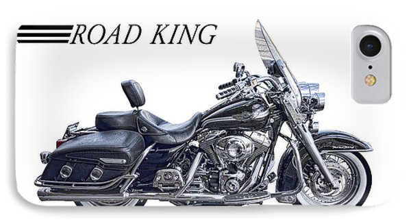 H D Road King IPhone Case by Daniel Hagerman