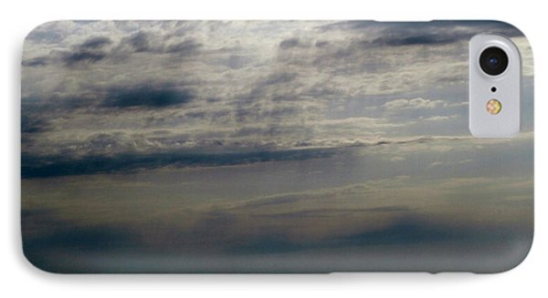Hdr Storm Over The Water  Phone Case by Joseph Baril