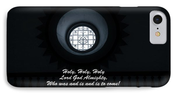 IPhone Case featuring the photograph He Is Coming - Revelation 4  8 by Ella Kaye Dickey
