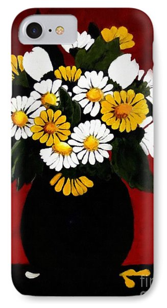 IPhone Case featuring the painting He Loves Me... by Barbara Griffin