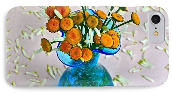 He Loves Me Bouquet Phone Case by Frozen in Time Fine Art Photography