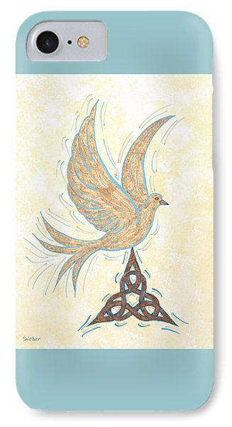 He Set Us Free Phone Case by Susie WEBER