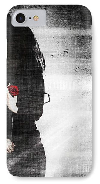 He Took My Sense Of Self IPhone Case by Jessica Shelton
