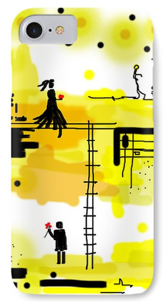He Will Wait IPhone Case