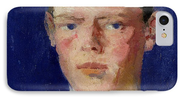 Head Of A Young Man Phone Case by Francis Campbell Boileau Cadell