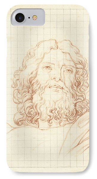 Head Of Resurrecting Christ, Bernard Picart IPhone Case by Quint Lox