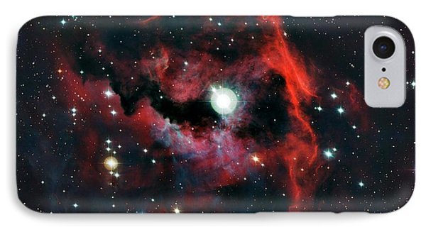 Head Of Seagull Nebula IPhone Case by European Southern Observatory