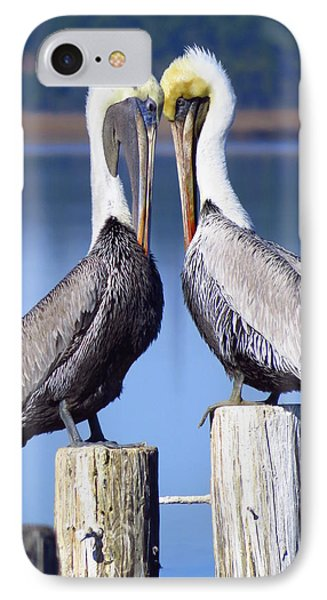 Head To Head IPhone Case by Phyllis Beiser