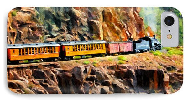 Headed Up The Grade IPhone Case by Michael Pickett
