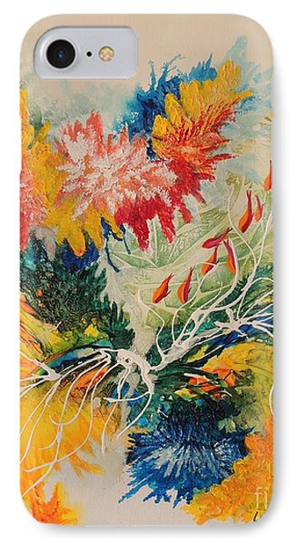 IPhone Case featuring the painting Heading Down #1 by Lyn Olsen