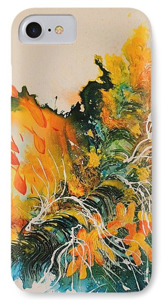 IPhone Case featuring the painting Heading Down #2 by Lyn Olsen