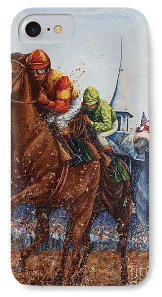 Heading For Home - The Race IPhone Case