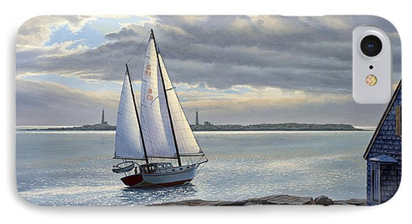 Heading Out-close Hauled     IPhone Case by Paul Krapf