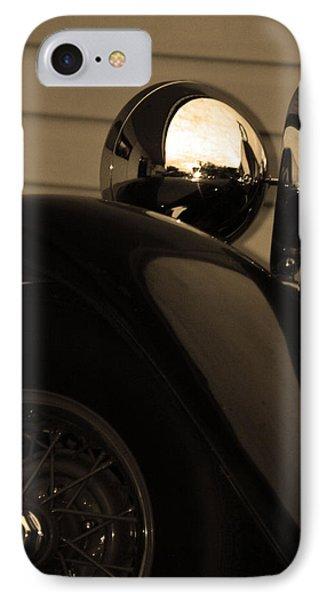 Headlamp IPhone Case by Steve Godleski