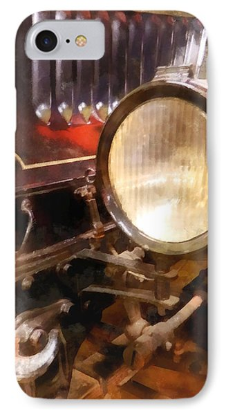 Headlight From 1917 Truck Phone Case by Susan Savad
