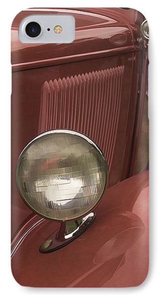 IPhone Case featuring the photograph Headlights by Wayne Meyer