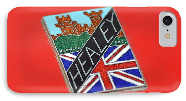 Healey Silverstone D Type Phone Case by Frozen in Time Fine Art Photography