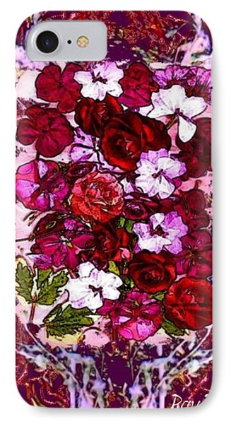Healing Flowers For You IPhone Case by Ray Tapajna