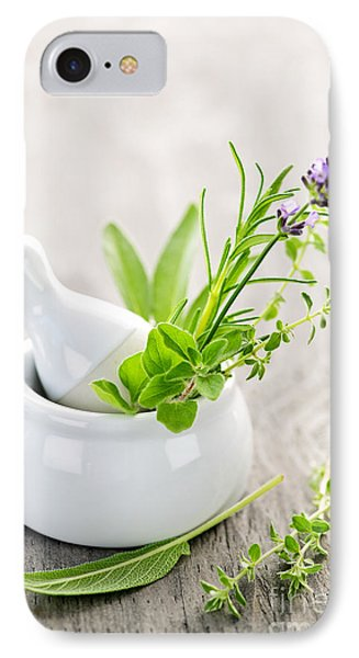 Healing Herbs IPhone Case by Elena Elisseeva