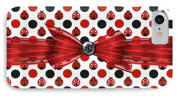 Healing Ladybugs IPhone 7 Case by Debra  Miller