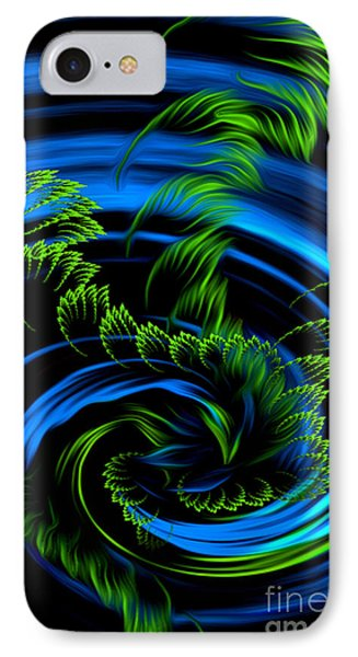 Healing Vortex - Abstract Spiritual Art By Giada Rossi IPhone Case by Giada Rossi