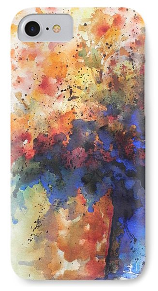 Healing With Blue Phone Case by Chrisann Ellis