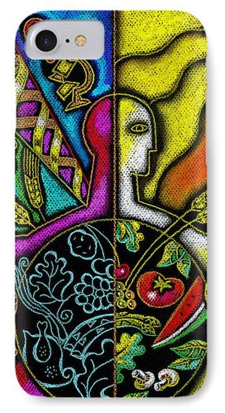 Health Food IPhone Case by Leon Zernitsky
