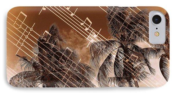 Hear The Music Phone Case by Athala Carole Bruckner
